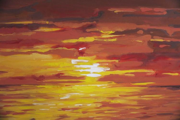 Glorious evening sunset - Image 0
