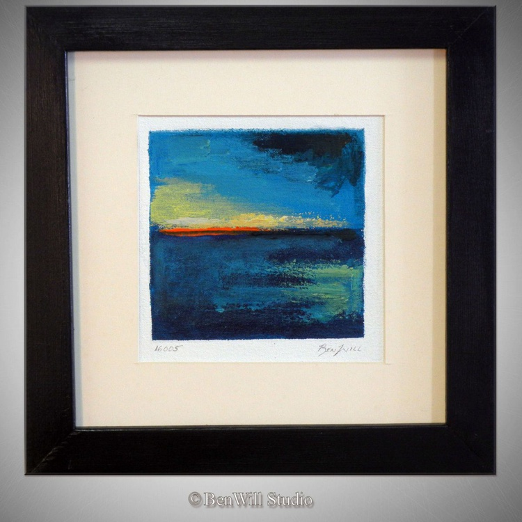 Daily Painting 16005 Framed 14x14 - Image 0