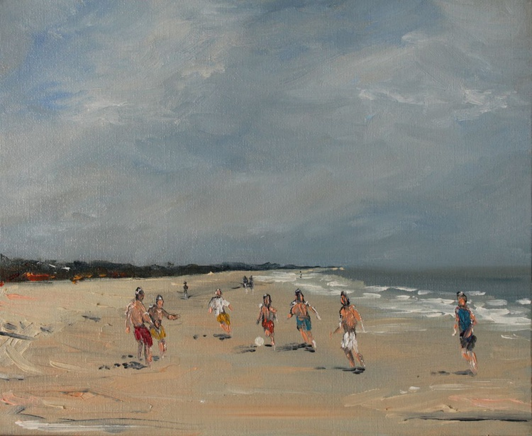 Beach Kickabout. - Image 0