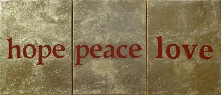 THREE WISHES (Hope, Peace, Love) - Image 0