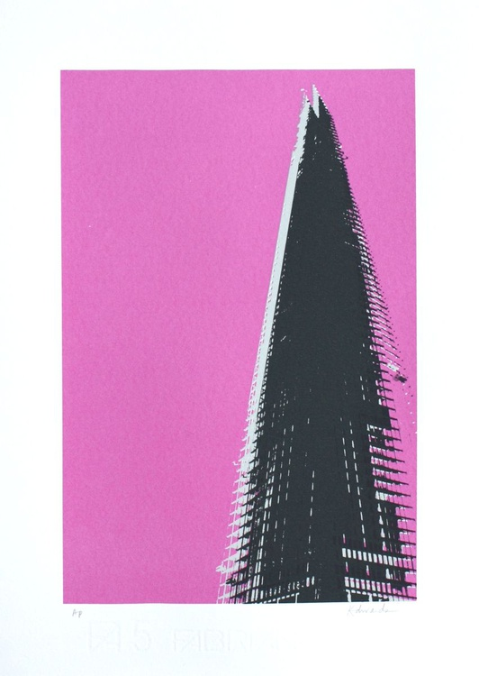 The Shard (pink) - Image 0