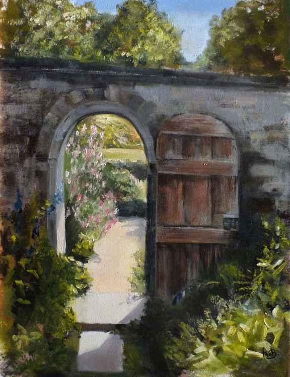 Door o the garden -
