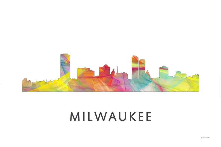 Milwaukee Wisconson Skyline WB1 -