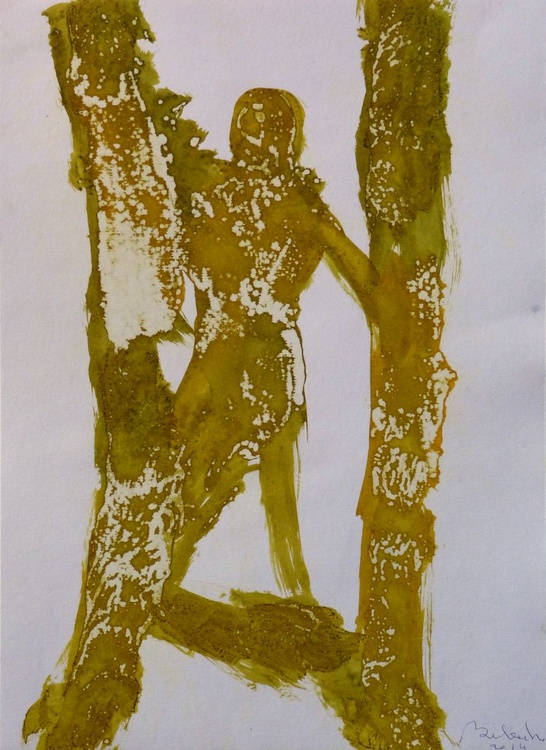 Prolegomena, Acrylic on paper #16, 29x42 cm - Image 0