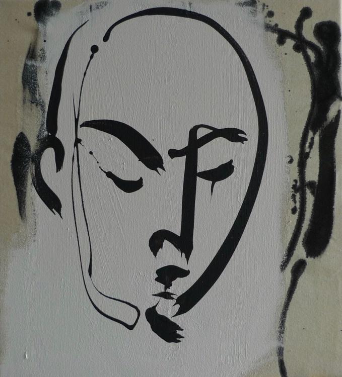 Large Urban Face No. 1 - Image 0