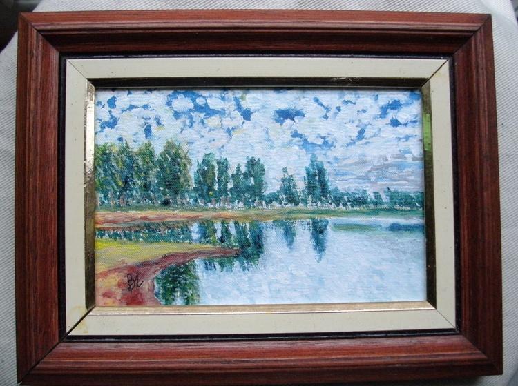Reflections on Lake (mini) - Image 0