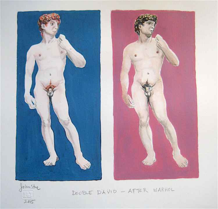 DOUBLE DAVID AFTER ANDY WARHOL