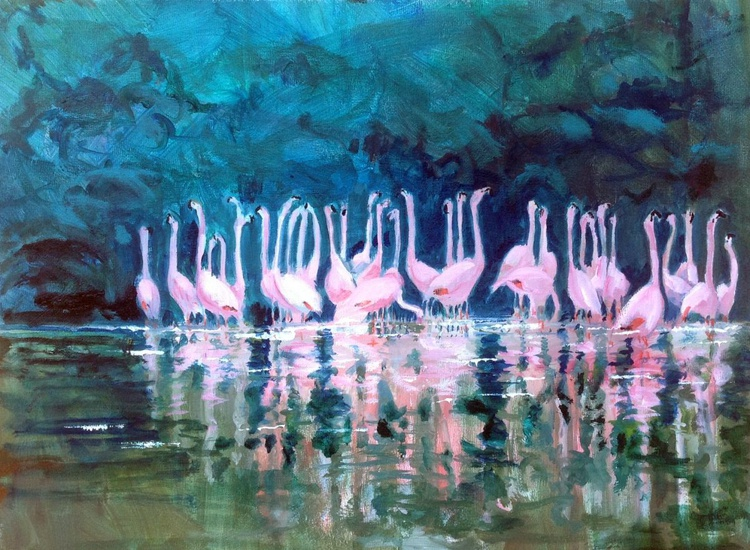 Pink Reflections - Image 0