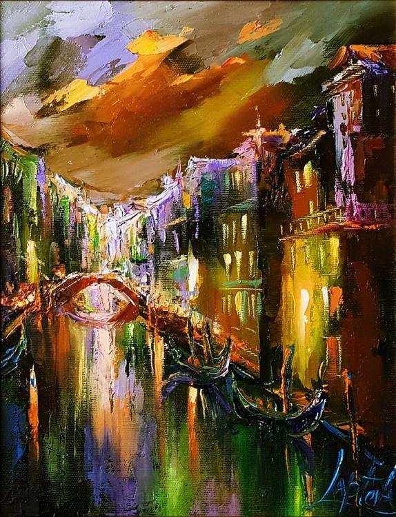 Lights of evening Venice - Image 0