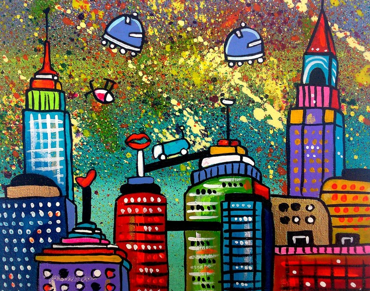 Space Vibrant City - Image 0