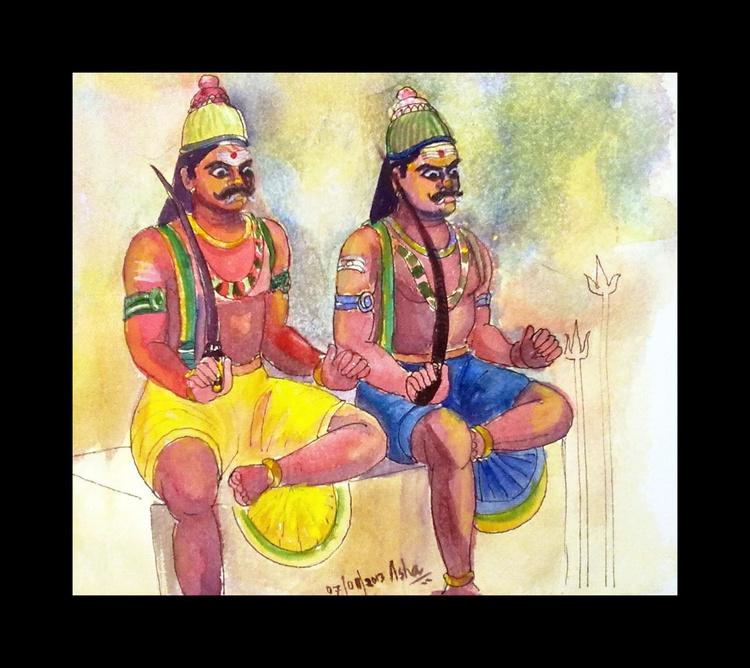 The Guardian Gods-Ayyanars of Tamil Nadu.India - Image 0