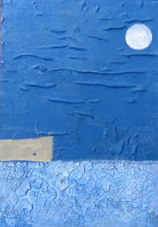The moon over the house - Image 0