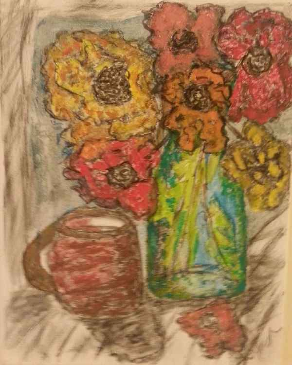 Bouquet Still Life -