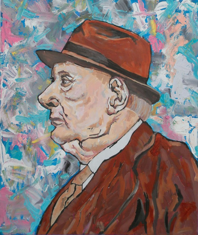 Portrait of L.S. Lowry - The Manchester Man - Image 0