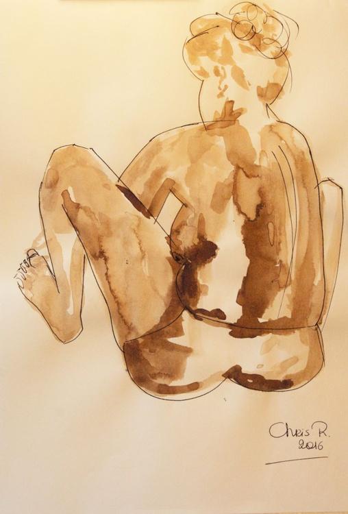 Elke, seated - Image 0