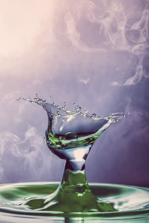 Droplet Collision 5 - Image 0
