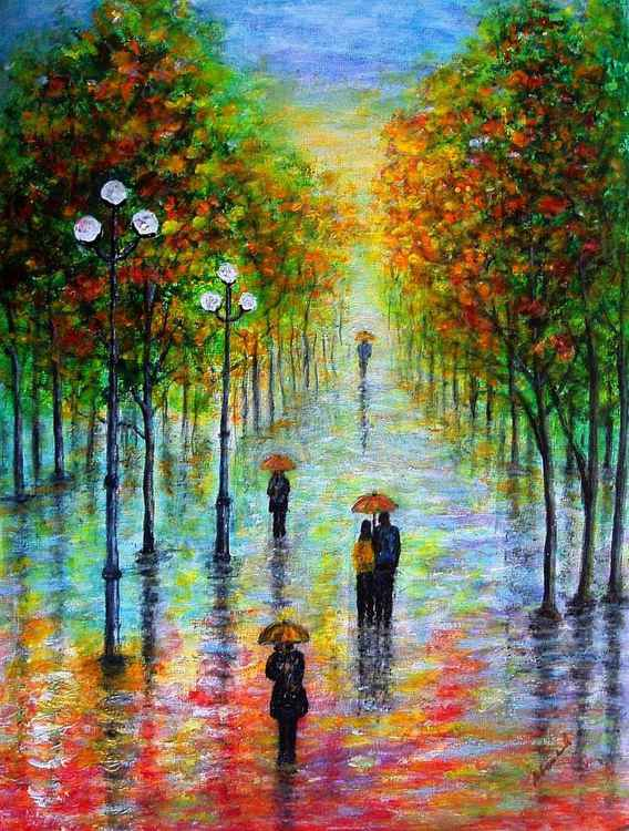 Walk in the rain 1..
