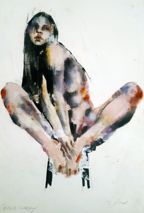 9-28-16 seated figure - Image 0
