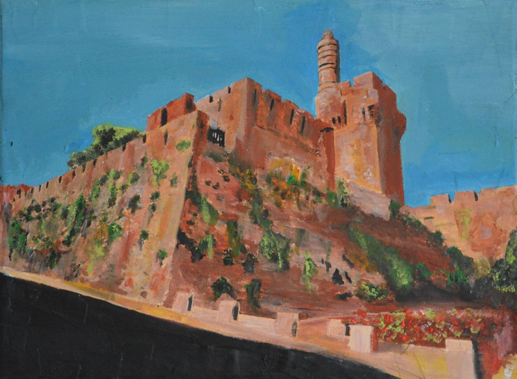 Jerusalem, the Tower of David. - Image 0