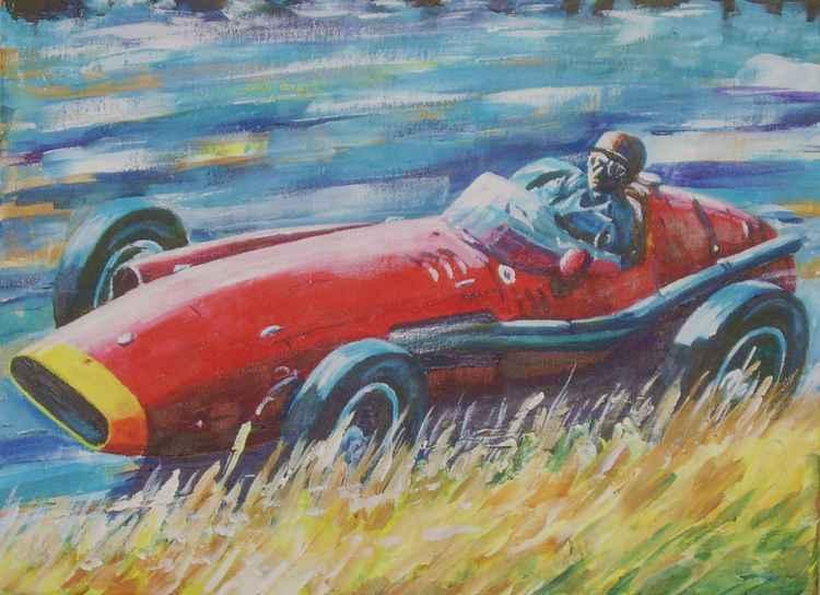Juan Manuel Fangio, 1957 Nurburgring -