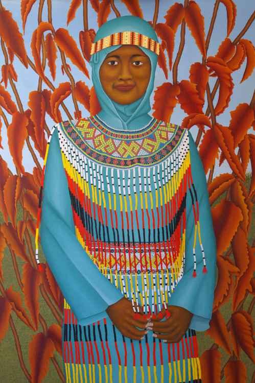 Beautiful Sulawesi girl -