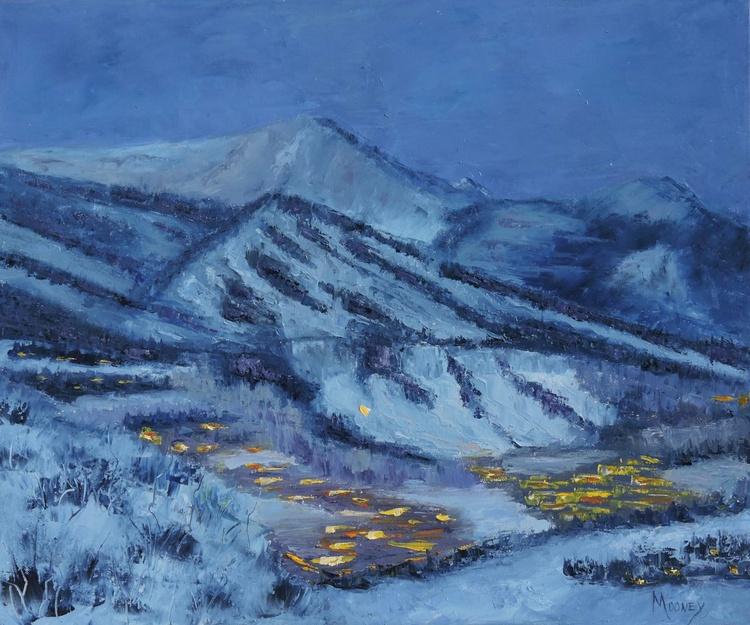 Aspen Mountain Nocturne - Image 0