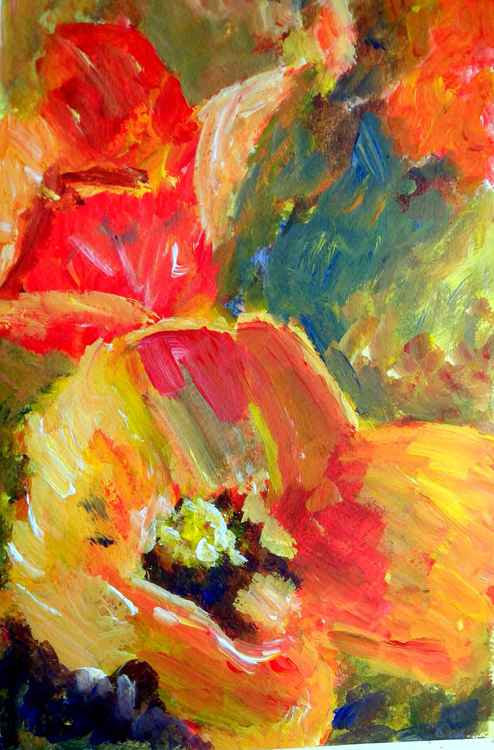 Just be you #2 (Poppies) -