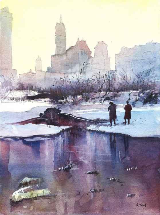 New York - Promenade hivernale