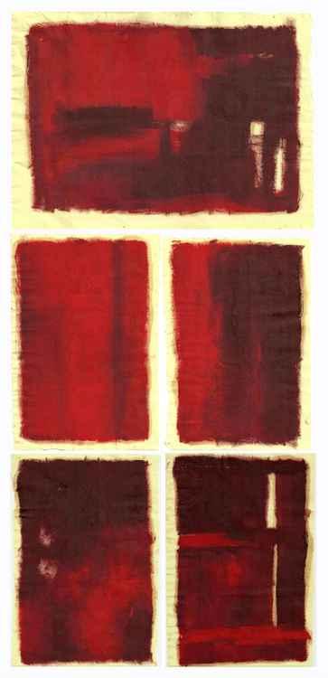 'Flesh'  (series of five paintings) -