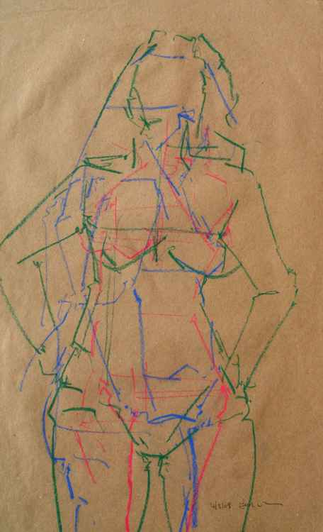 Life Drawing No 35 -