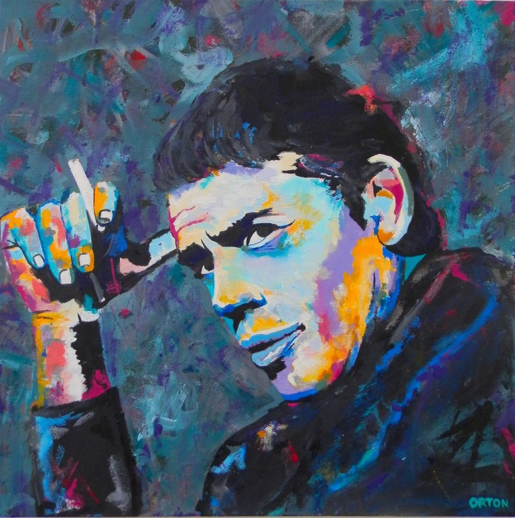 Jacques Brel Portrait - Chanson Master - Image 0