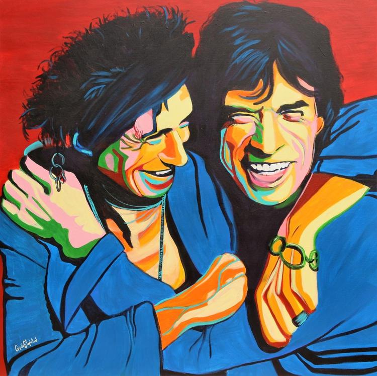 Keith and Mick - Image 0