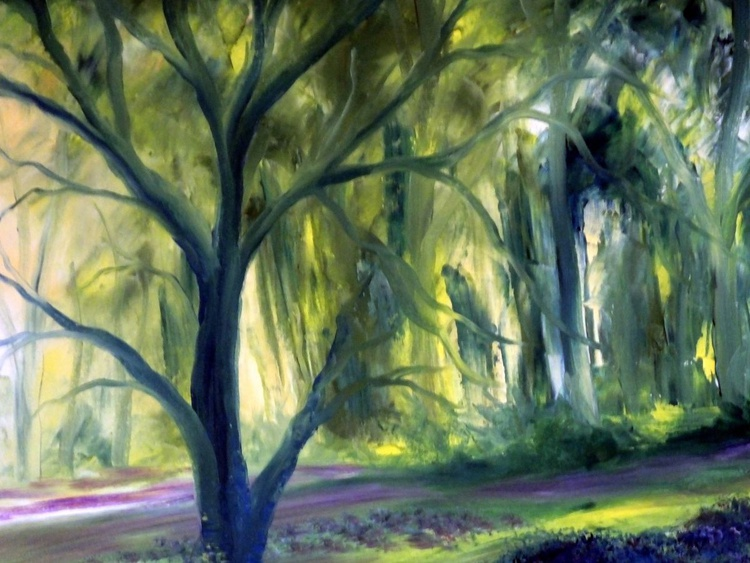 Sundrensched Bluebell Fields (Large Panoramic) - Image 0