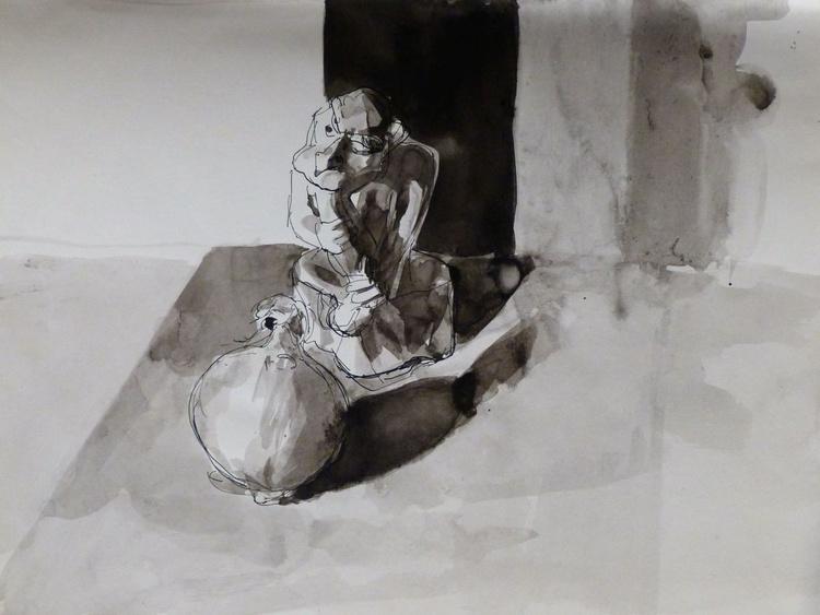 Gargoyle, 24x31 cm - Image 0