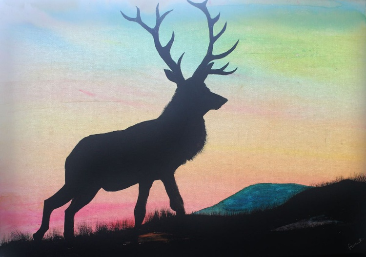 Stag Silhouette - Image 0