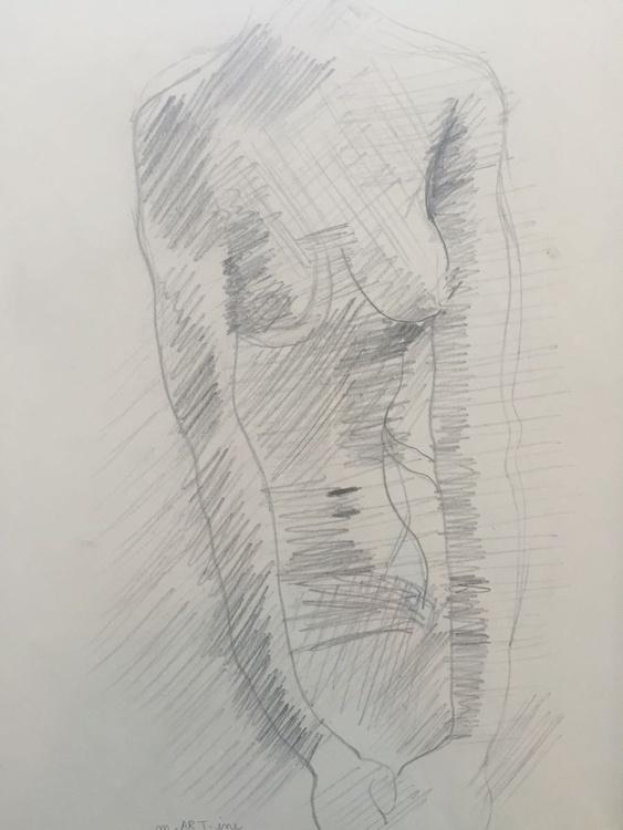 Nude study untitled - Image 0
