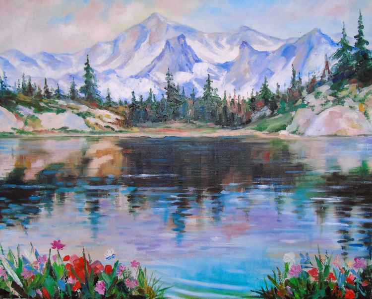 Mountain lake -