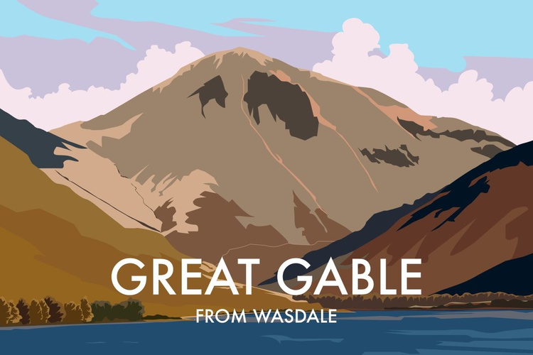 Great Gable, From Wasdale - Image 0