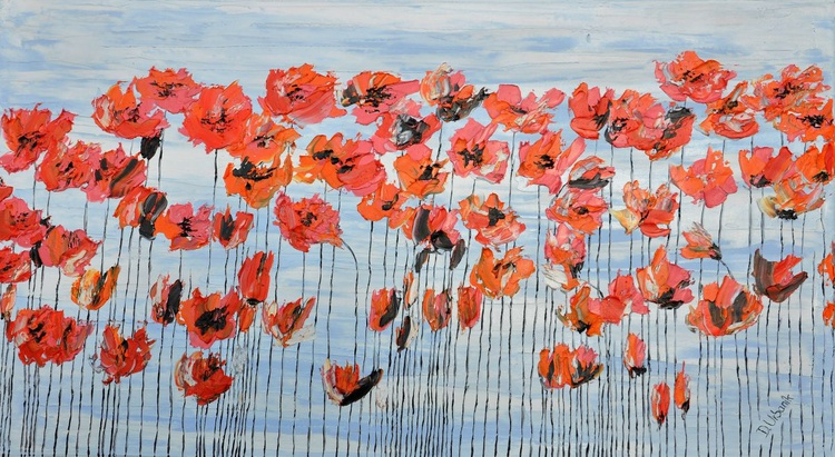Poppies And Blue Sky - Image 0