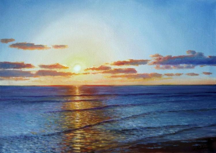 Evening at Sea - Image 0