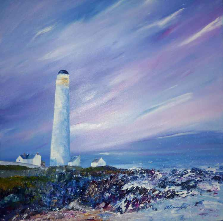 Scurdie Ness Lighthouse -