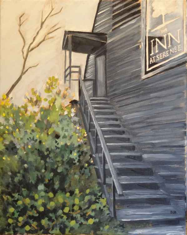 Serenbe Stairs -