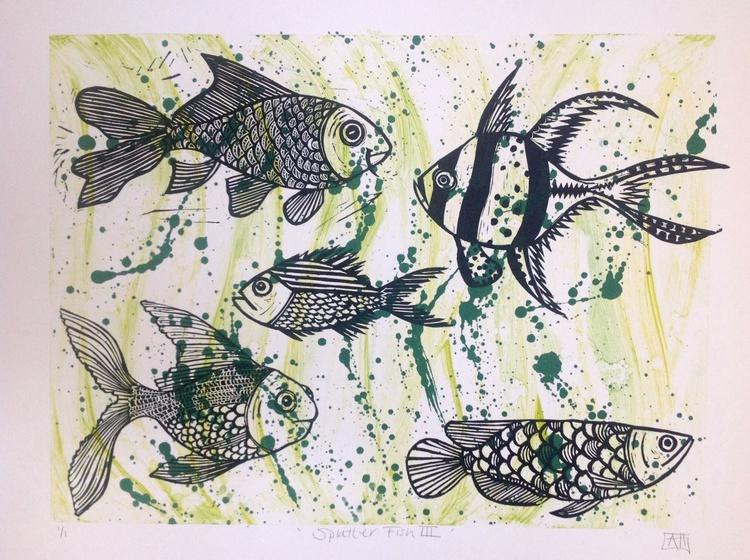 Splatter Fish III - Image 0