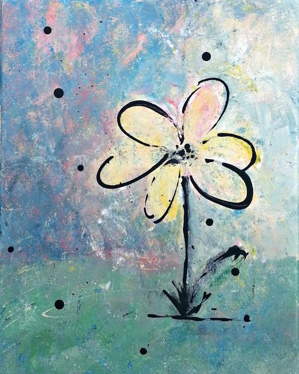 Daisy #3, Daily Art Series - Image 0