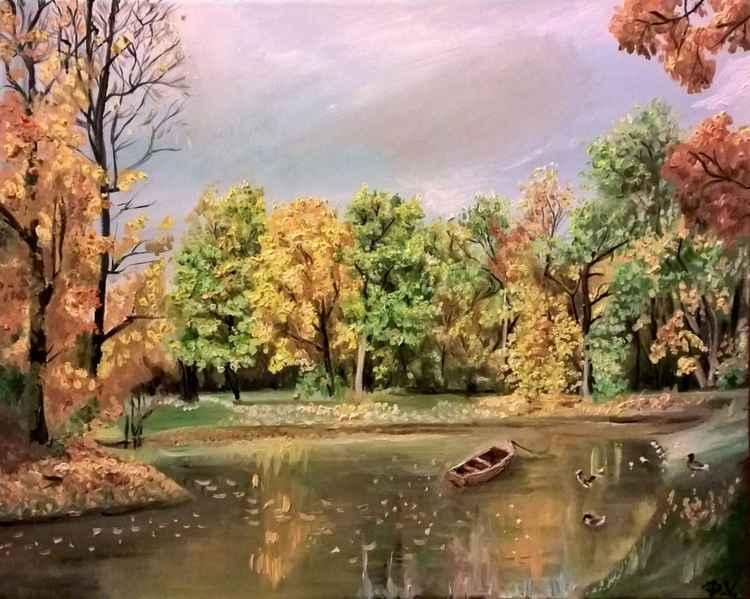 Autumn landscape III. -