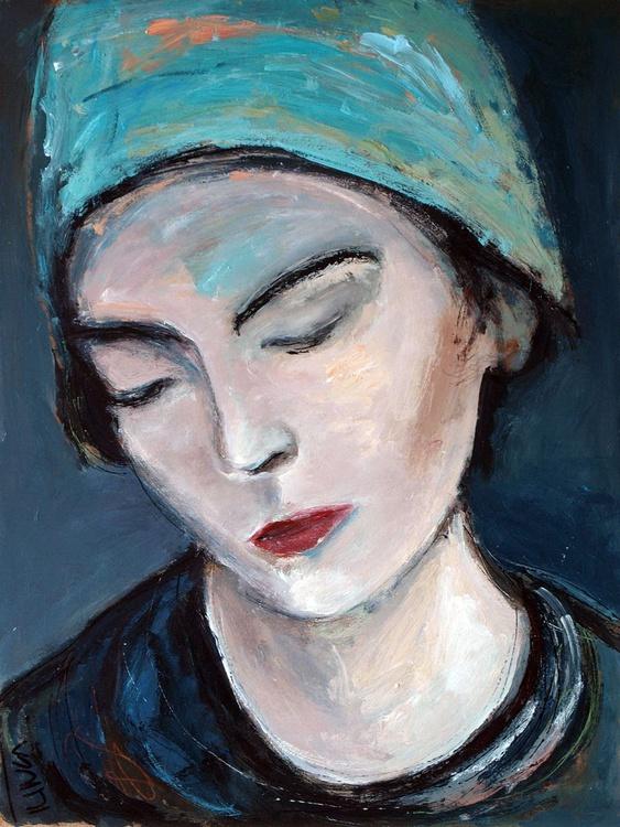 L'une (4) ~ woman portrait, figure study - Image 0