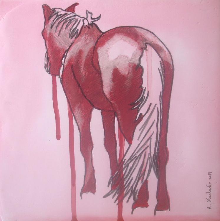 Horse Carved XXIV - Image 0