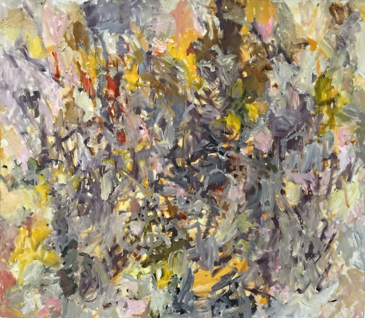 Untitled - Large Abstract Painting - Image 0