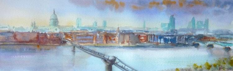 London Horizon (afternoon river) 16 - Image 0