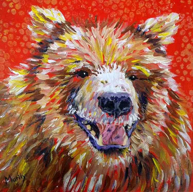 """Laughing Bear"" -"